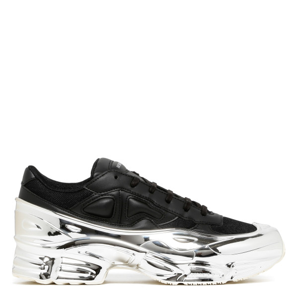 Black and silver RS Ozweego sneakers