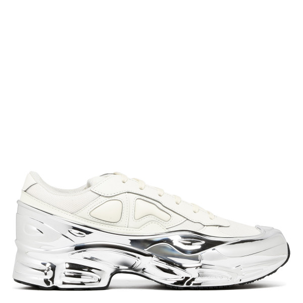 White and silver RS Ozweego sneakers