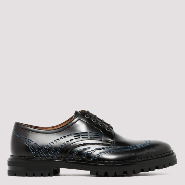 Cut out Derby shoes