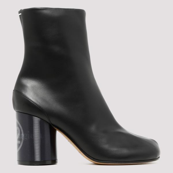 Black Hologram ankle boots