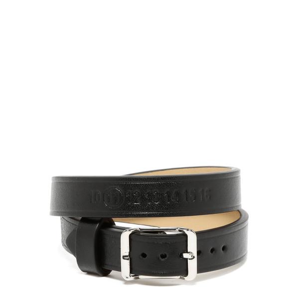 Black & Silver Double Wrap Bracelet
