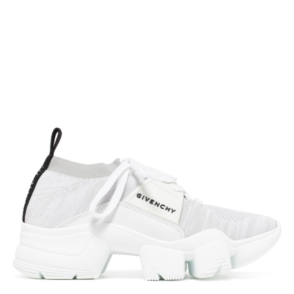Jaw white low sneakers