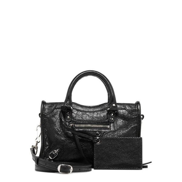 Black Classic City Nano handbag