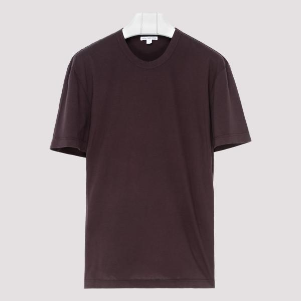 Burgundy classic T-shirt