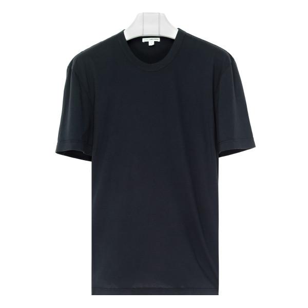 Deep blue cotton T-shirt