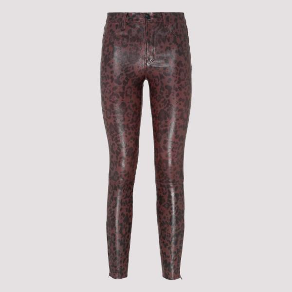 Jaguar leather pants