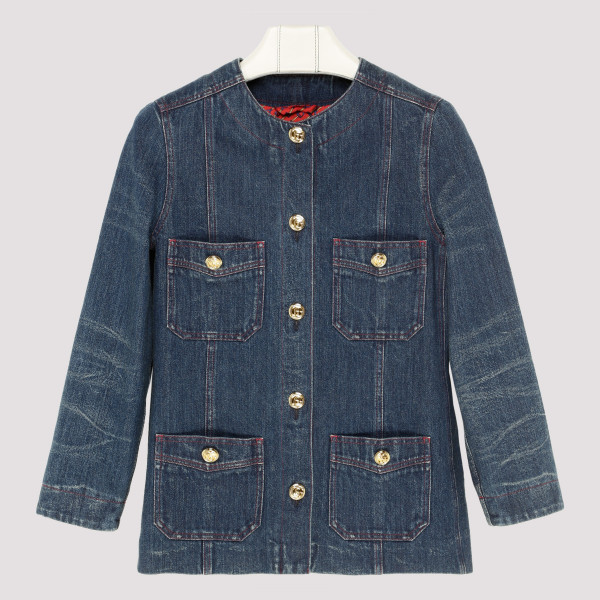 Blue Oversize denim jacket