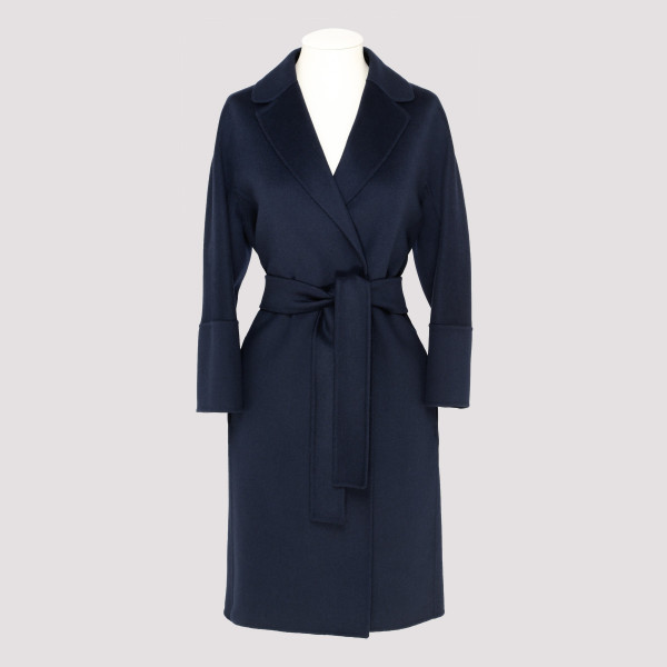 Blue Arona wool coat