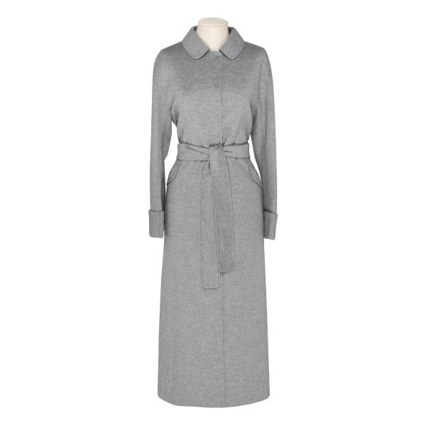 Gray Dora wool long coat