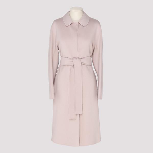 Pink Dora wool coat