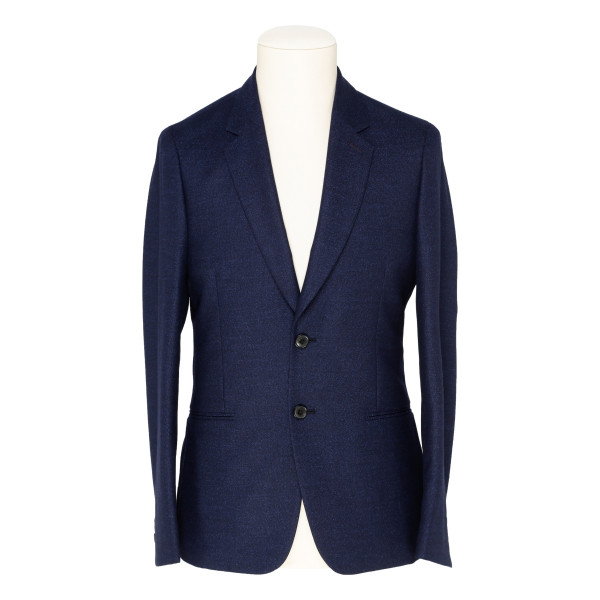 Blue wool slim fit blazer