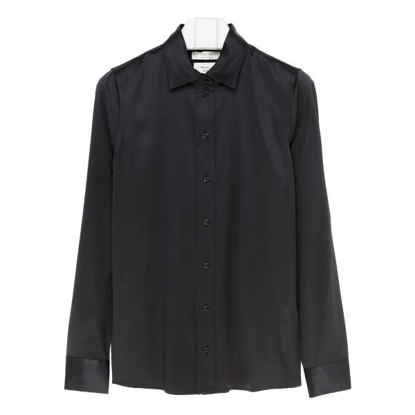 Black tailored classic shirt