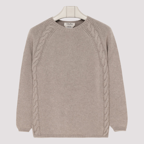 Taupe Giotpi cashmere sweater