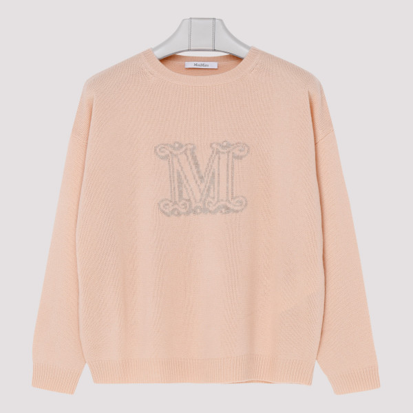 Cannes peach pink cashmere...