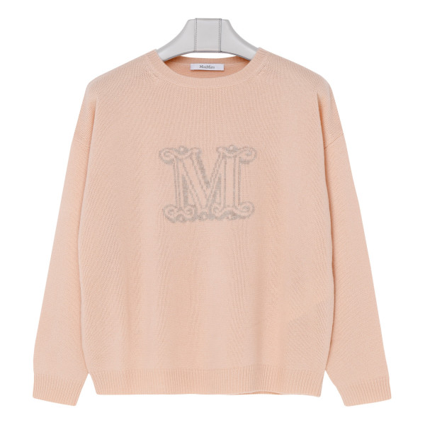 Cannes peach pink cashmere sweater