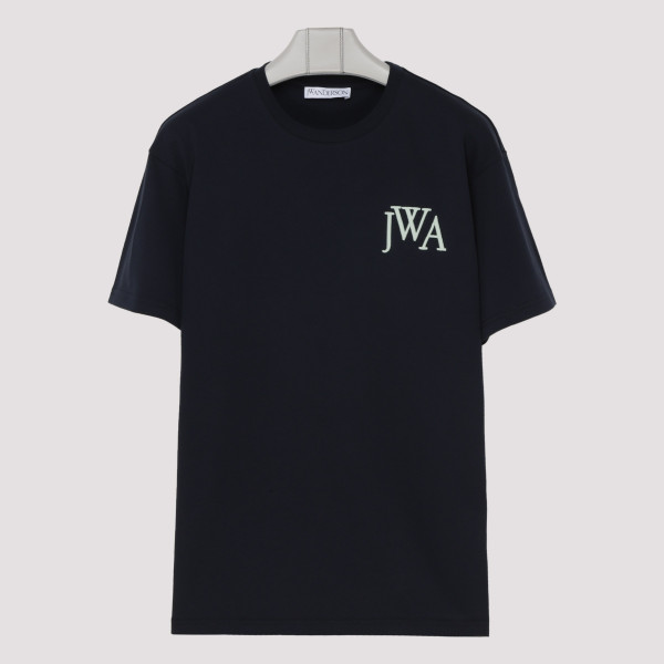 Navy blue logo T-shirt