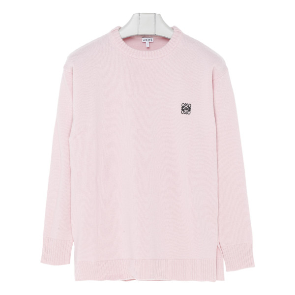 Pink anagram sweater