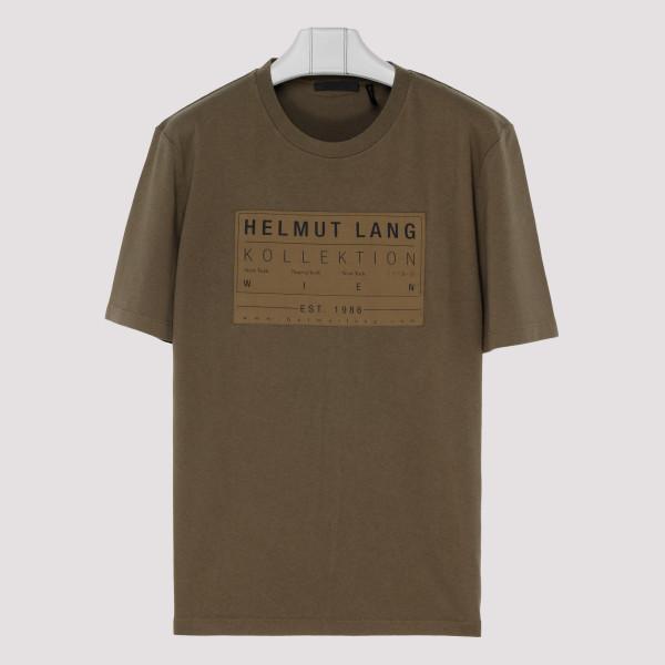 Dark resin patch T-shirt