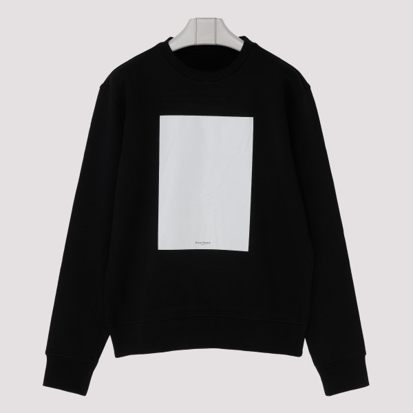 Black self-draw sweatshirt