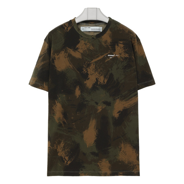 Incompiuto camouflage T-shirt