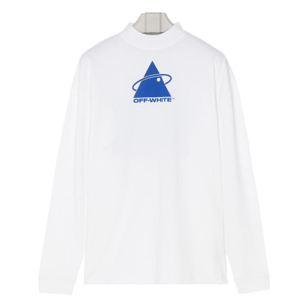 Triangle Planet over white T-Shirt