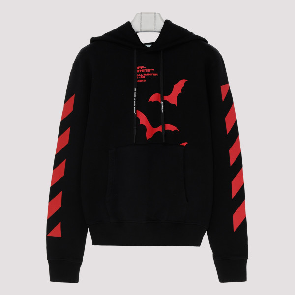 Bats and diagonals hoodie