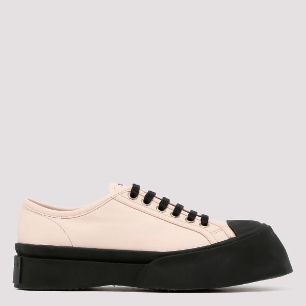 Bi-color chunky sneakers