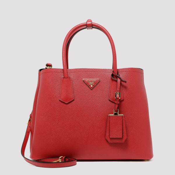 Red Logo Medium Tote Bag