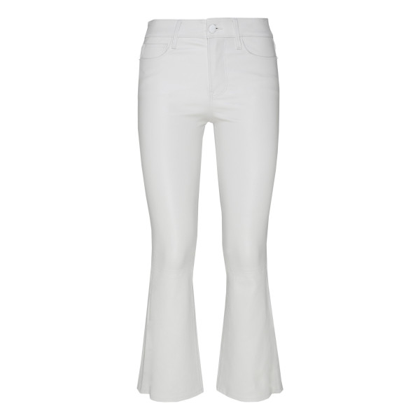 Le Cropped Leather pants