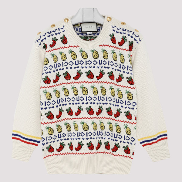Pineapple and strawberry sweater