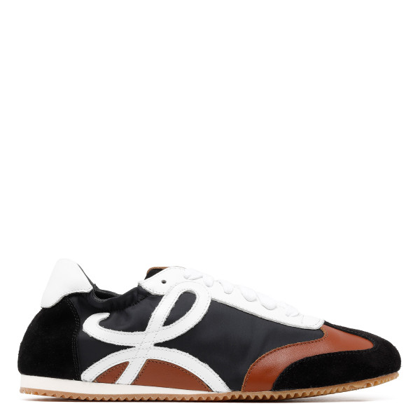 Black, brown and white Sneakers