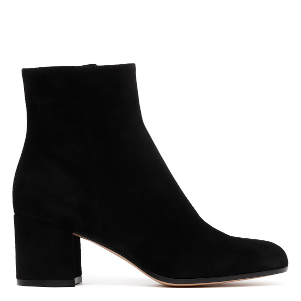 Black suede Margaux booties