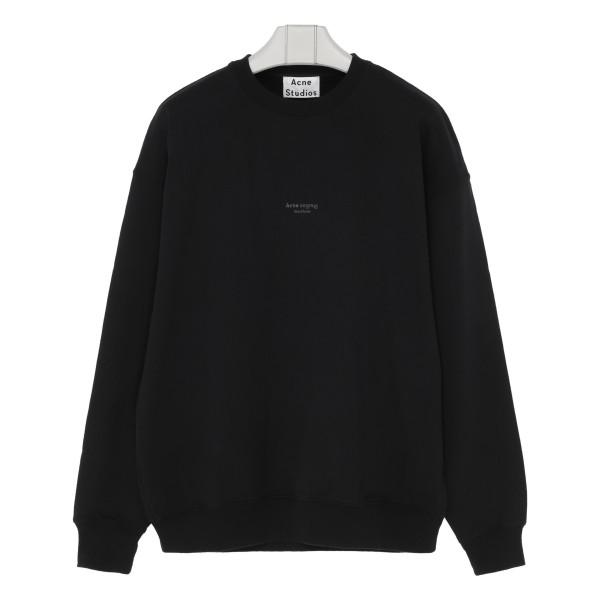 Black Embossed logo sweatshirt