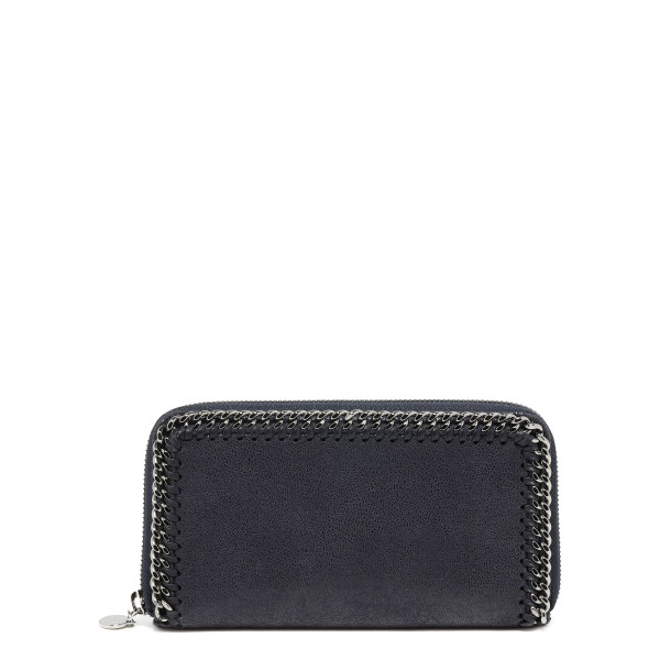 Blue Falabella Shaggy Deer Wallet