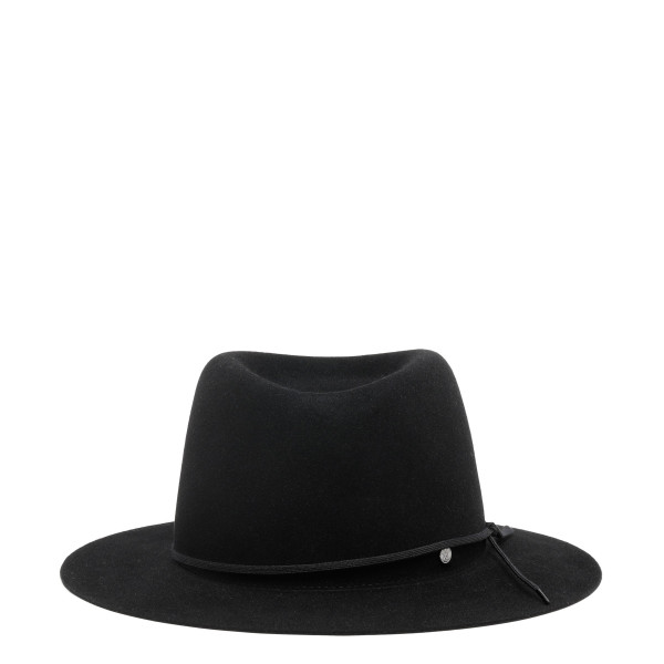 André black wool felt hat