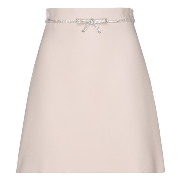 Ivory cady mini skirt