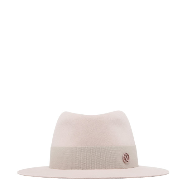 Baby Pink André Fedora hat