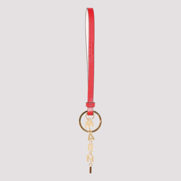 Red Keyring with logo