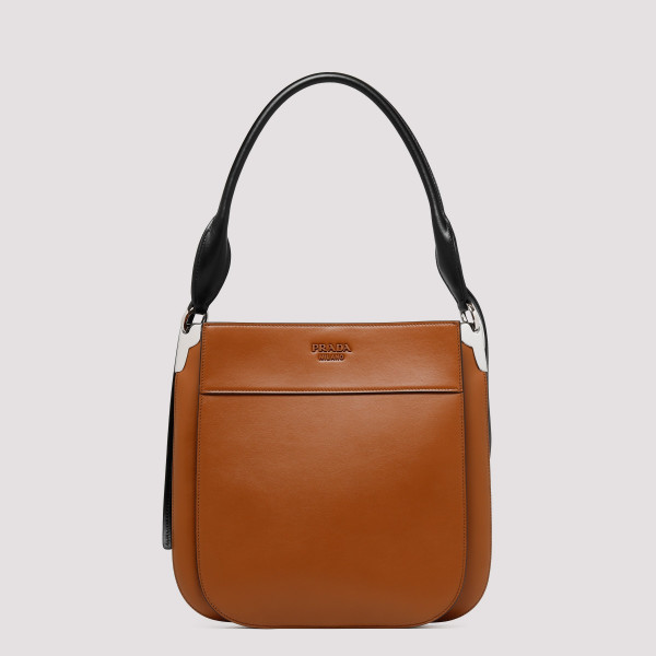 Brown leather Margit...