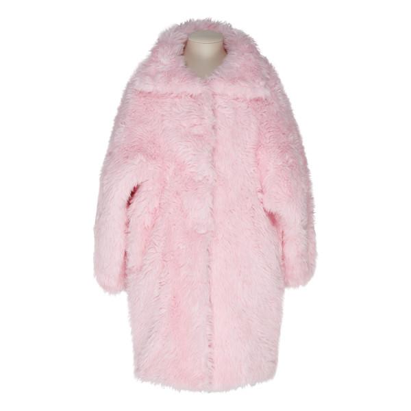 Pink swing coat