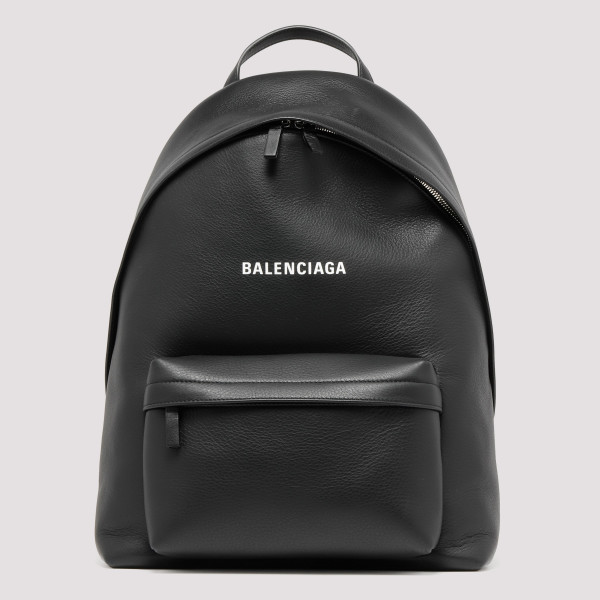 Everyday black leather...