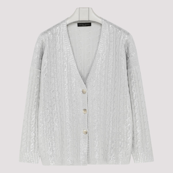 Pearl gray cardigan