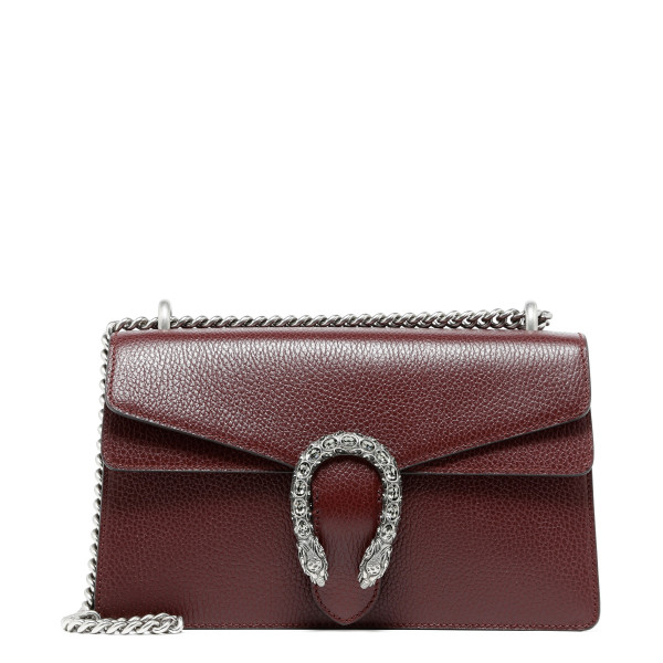 Dionysus burgundy small shoulder bag
