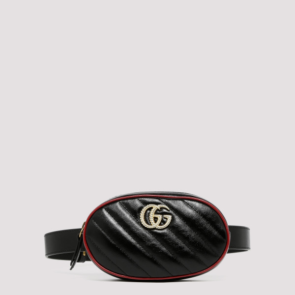 GG Marmont black leather...