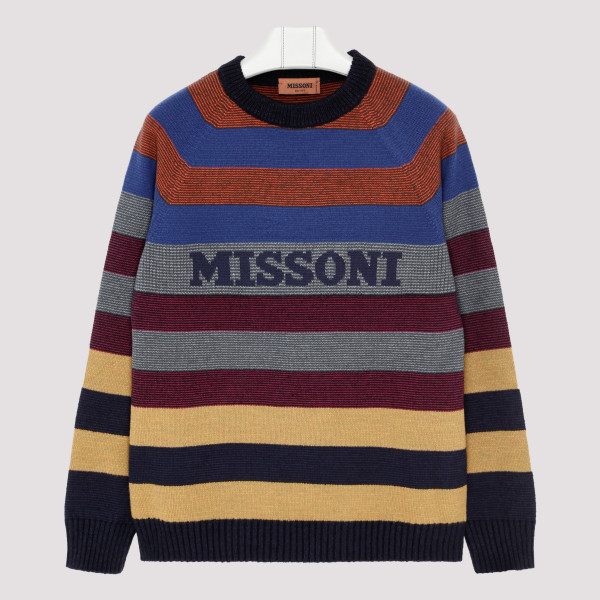 Multicolor striped sweater...