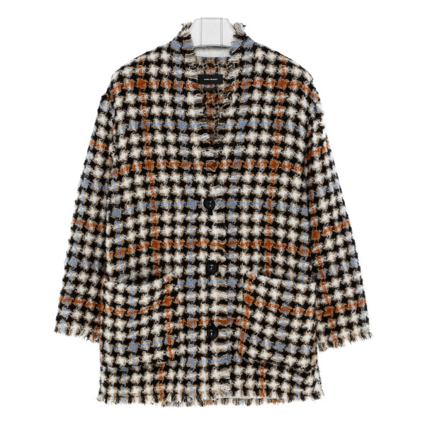 Daianaly Checked Wool-Blend jacket