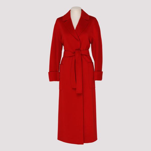 Red wool Algeri coat