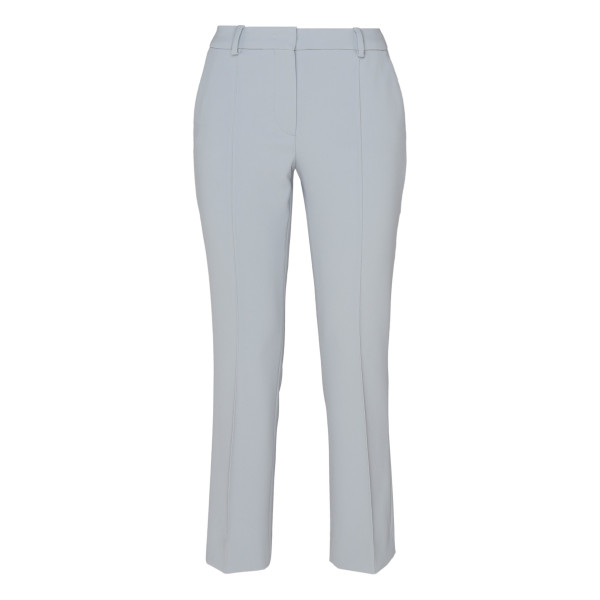 Ligth blue Tailored Flare Trousers