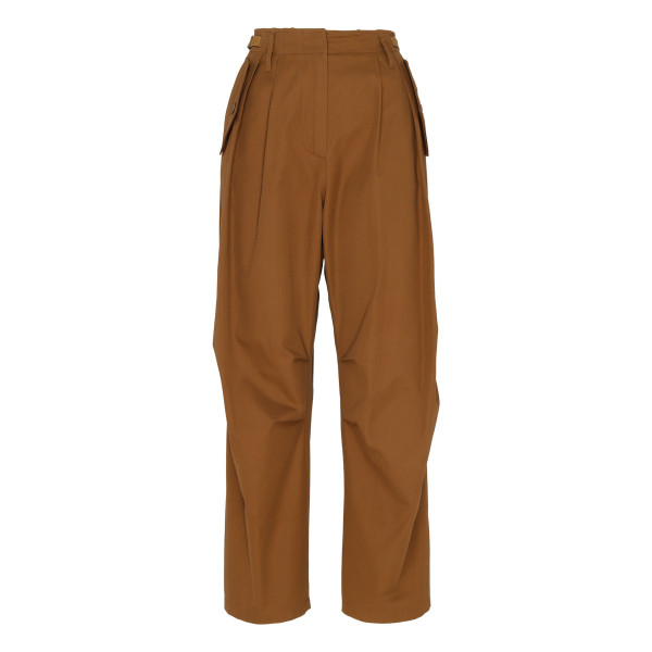 Cappuccino beige military cargo pants