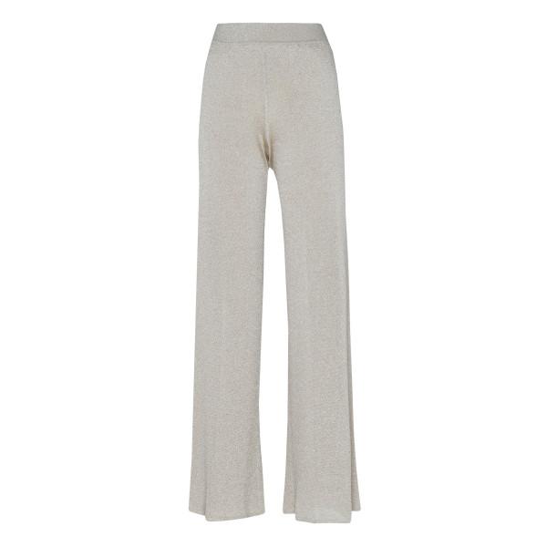 Lurex wide leg pants